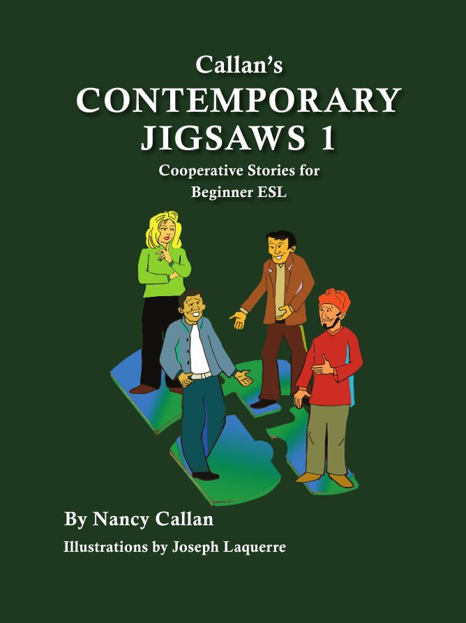 Book Cover: Contemporary Jigsaws 1